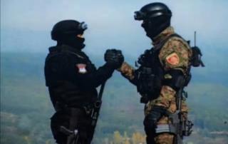 Заједничка вежба руских и српских специјалаца