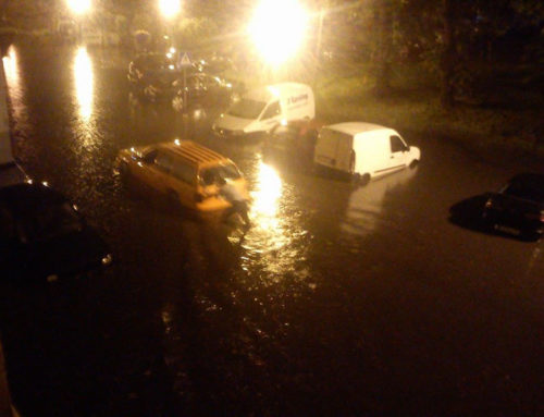 Поплављене улице и домови