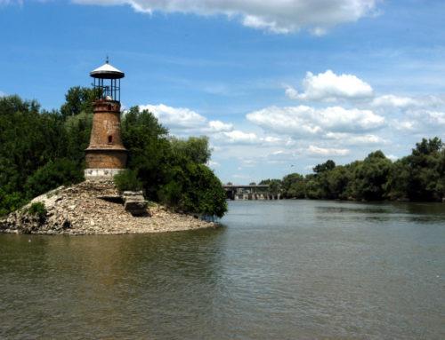 Водостој Дунава код Панчева 595цм
