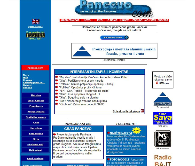 Pancevo.com -2000.