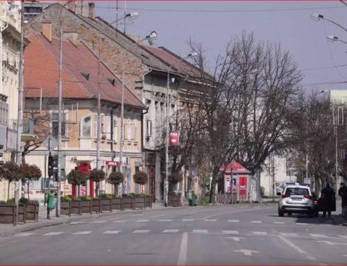 Policijski čas u Pančevu (VIDEO)