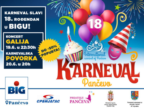 Program Internacionalnog Karnevala Pančevo 2020