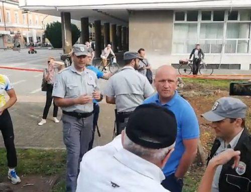 Dok su Pančevci sadili cveće i mlado drveće komunalna policija pisala kazne