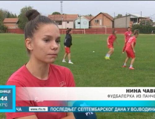 Bliznakinje Mina i Nina među najboljim mladim fudbalerkama u Srbiji