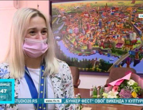 Mlada pančevačka džudistkinja Andrea Stojadinov nastavlja da niže uspehe na međunarodnim takmičenjima [VIDEO]
